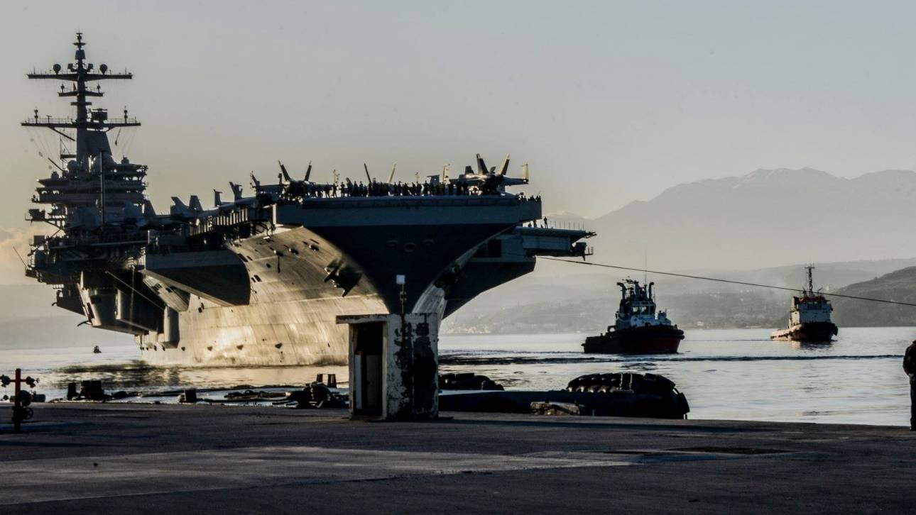 Από τη Σούδα ξεκίνησε το πλοίο που βομβάρδισε τη Συρία (pics&vid)