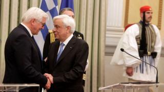 Παυλόπουλος σε Στάινμαϊερ: Να τηρήσουν οι εταίροι τις υποχρεώσεις τους (pics)