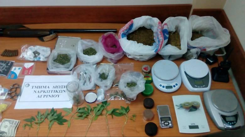 Εξαρθρώθηκε μεγάλη σπείρα διακίνησης ναρκωτικών στο Αγρίνιο