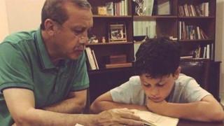 Ο Ερντογάν σε ρόλο παππού (pic)