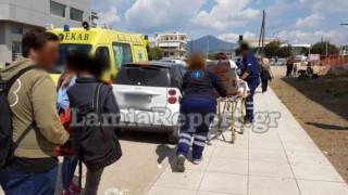 Λαμία: Αυτοκίνητο παρέσυρε 16χρονη μαθήτρια (pics)