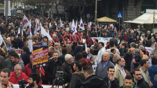 Συγκέντρωση διαμαρτυρίας του ΠΑΜΕ στο κέντρο της Αθήνας (pics&vid)