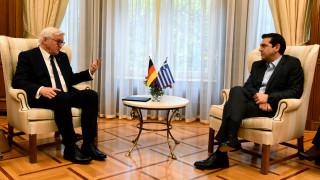 Όλα όσα συζήτησαν ο Τσίπρας με τον Γερμανό Πρόεδρο (pics)