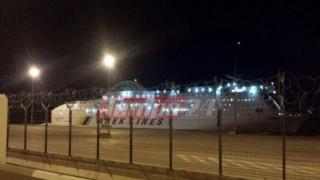 Πρόσκρουση πλοίου στο λιμάνι της Πάτρας - Προκλήθηκε ρήγμα δύο μέτρων