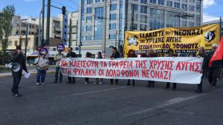 Αντιφασιστικό συλλαλητήριο στην Αθήνα (pics&vid)