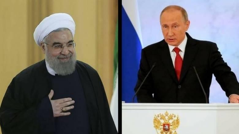 Πούτιν-Ροχανί: Ανεπίτρεπτες οι ενέργειες των ΗΠΑ κατά της Συρίας