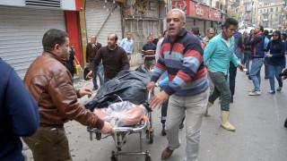Συγκλονιστικό βίντεο: Η στιγμή της έκρηξης στην εκκλησία της Αλεξάνδρειας (vids)