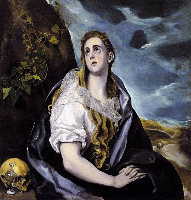 El Greco Mary Magdalen in Penitence WGA10452