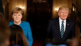 Τηλεφωνικές επικοινωνίες Τραμπ με Μέρκελ και Μέι για την επίθεση στη Συρία