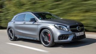 Τα compact μοντέλα της Mercedes είναι συνταγή επιτυχίας
