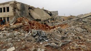 Συριακό Παρατηρητήριο: Η συριακή Πολεμική Αεροπορία χρησιμοποίησε και πάλι βαρέλια με εκρηκτικά