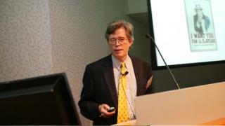 Ο καθηγητής Michael Tuts στο Ευγενίδειο την Πέμπτη 27 Απριλίου