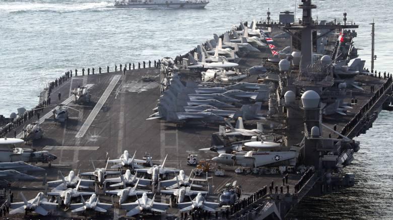 Η Βόρεια Κορέα απειλεί τις ΗΠΑ με πυρηνική επίθεση - Φτάνει αεροπλανοφόρο στην περιοχή