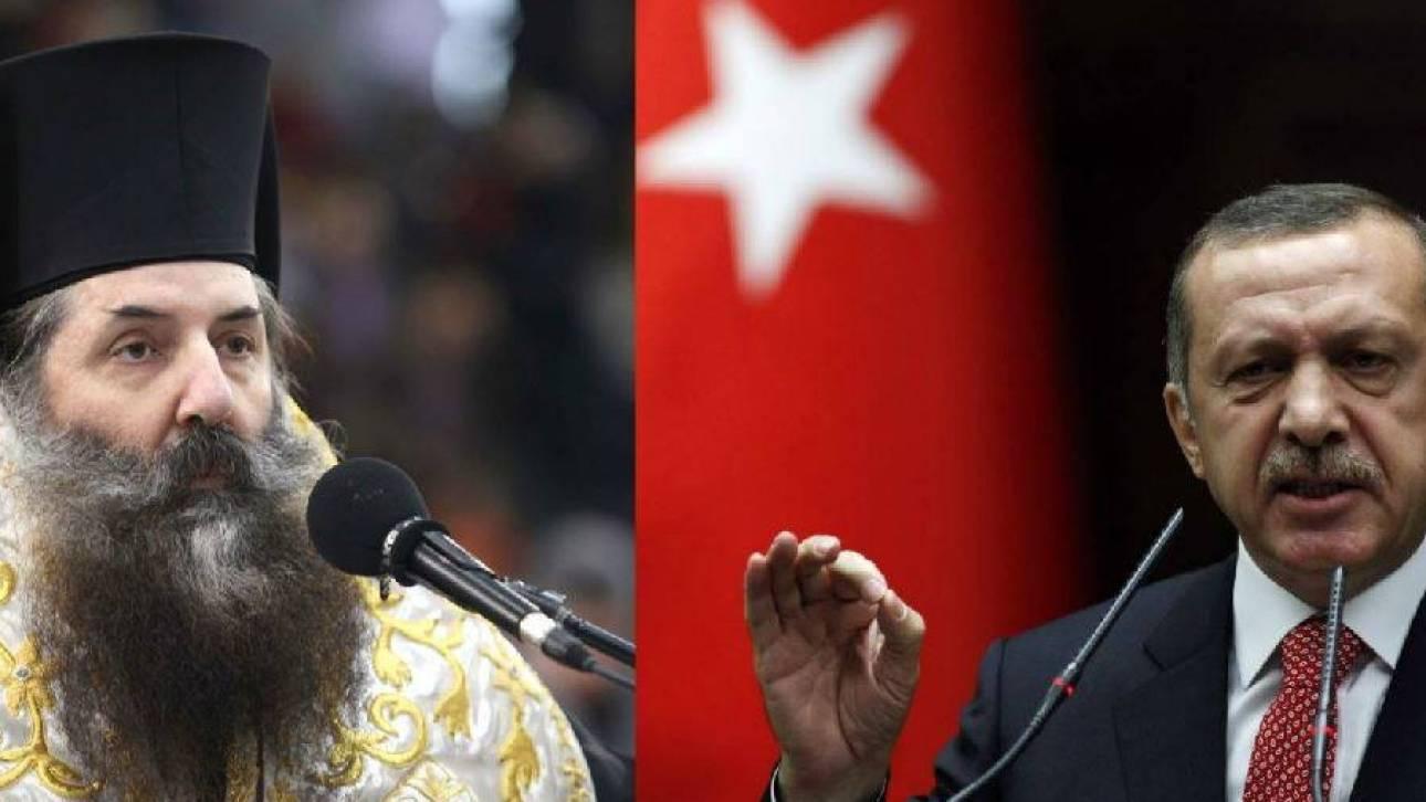 Μητροπολίτης Πειραιώς προς Ερντογάν: Βαπτίσου Χριστιανός με νονό τον Πούτιν
