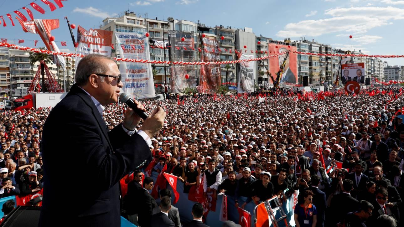 Νέα πρόκληση από Ερντογάν: Χαρακτηρίζει τους Έλληνες γκιαούρηδες