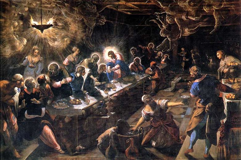 Tintoretto LastSupper