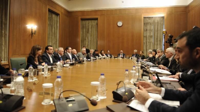 Συνεδριάζει το Υπουργικό Συμβούλιο υπό τον Αλέξη Τσίπρα