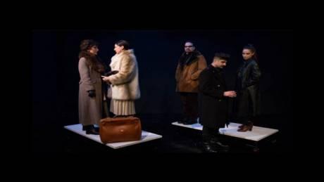 Με αφορμή ένα χέρι. Ντάνιελ Ντιμέκο: Το χέρι του Γιάνος, Θέατρο του Νέου Κόσμου