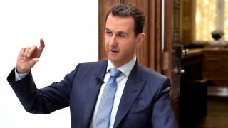 Επανεμφάνιση Άσαντ μετά την επίθεση με τα χημικά – Μύδροι κατά των ΗΠΑ