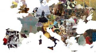 Ο χάρτης της Ευρώπης μέσα από τα πιο εμβληματικά έργα τέχνης κάθε χώρας (Pic)