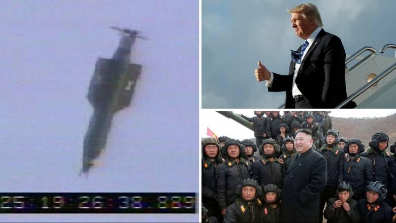 Αμερικανική επίδειξη ισχύος με τη «μητέρα των βομβών» με το... βλέμμα στον Κιμ