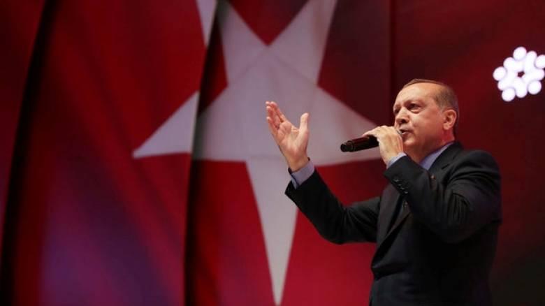 Ερντογάν: Δεν έχουμε καμία πρόθεση να κάνουμε την Τουρκία ομοσπονδιακό κράτος