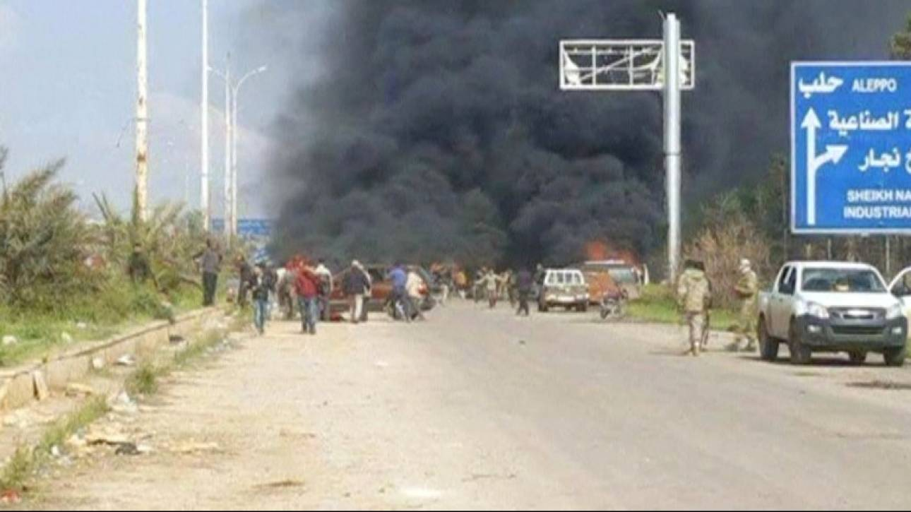 Συρία: Δεκάδες νεκροί και τραυματίες από έκρηξη σε λεωφορεία με αμάχους (pics)