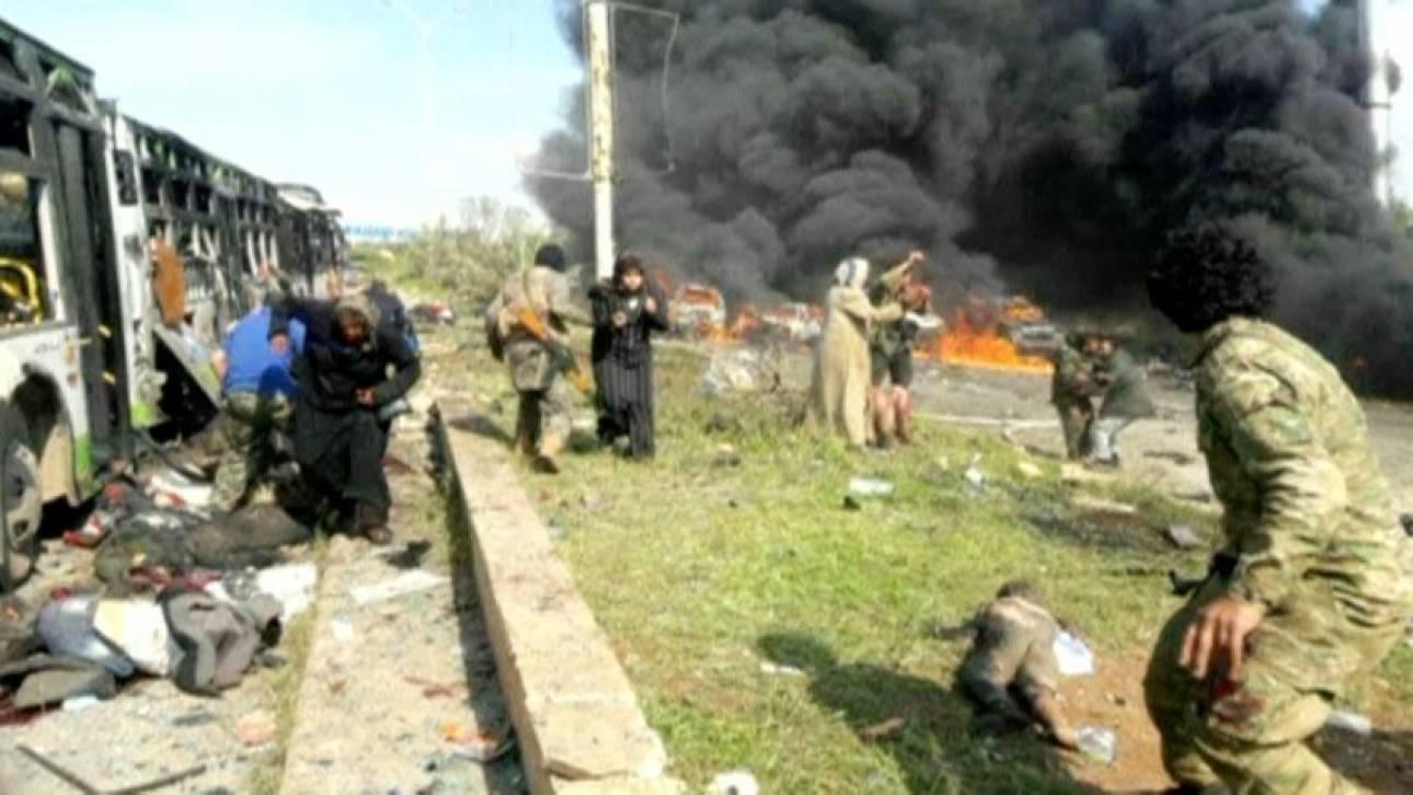 Συρία: Νέο μακελειό με δεκάδες αμάχους νεκρούς (pics&vids)