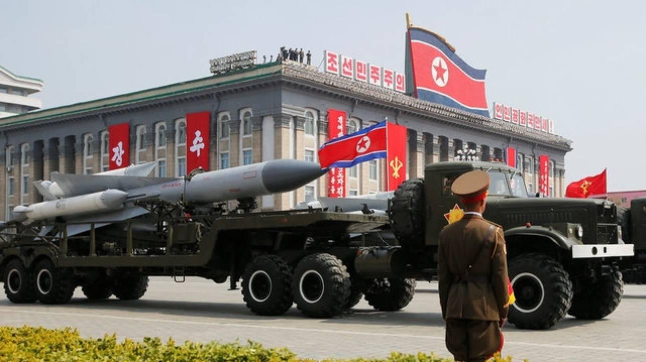 Αποτυχημένη πυραυλική δοκιμή από τη Βόρεια Κορέα