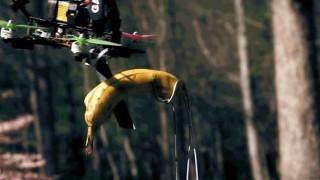 Για τους λάτρεις του Fruit Ninja: Το «ιπτάμενο ξυράφι» που κόβει φρούτα στα 2 (vid)