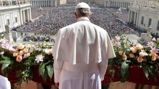 Το πασχαλινό μήνυμα του πάπα Φραγκίσκου για την ειρήνη στη Συρία και τους Άγιους Τόπους