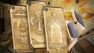 Ρωσική εταιρία κατασκεύασε επιχρυσωμένα iPhone με χαραγμένα θρησκευτικά σύμβολα