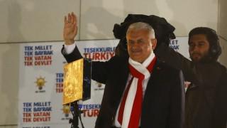 Γιλντιρίμ: Το αποτέλεσμα του δημοψηφίσματος είναι η απάντηση στο πραξικόπημα