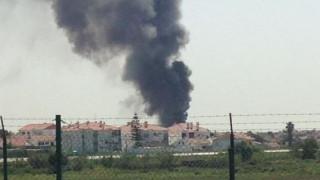 Πορτογαλία: Πέντε νεκροί από συντριβή αεροπλάνου σε αποθήκη σούπερ μάρκετ