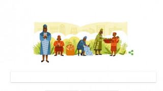 Η Έσθερ Άφουα Οκλόο το σημερινό Doodle της Google