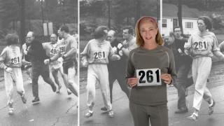 Κάθριν Σβίτσερ:Η πρώτη γυναίκα που έτρεξε στον Μαραθώνιο της Βοστώνης, το ξαναέκανε 50 χρόνια μετά