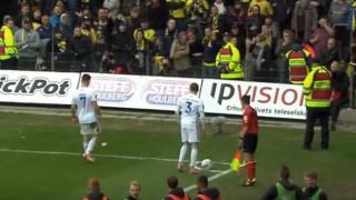 Δανία: Οπαδοί πέταξαν στους αντίπαλους παίκτες... ψόφιους αρουραίους (vid)