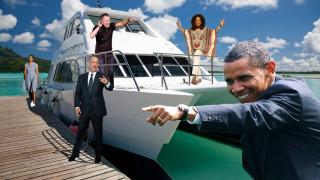 Ομπάμα, Χανκς, Σπρίνγκστιν & Όπρα: Η παρέα των ισχυρών στο γιοτ των $300 εκατ