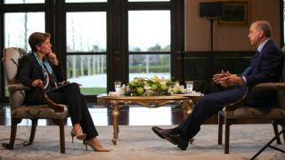 Ο Ερντογάν στο CNNi: Δεν είμαι δικτάτορας - Μπορεί να πεθάνω ανά πάσα στιγμή