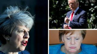 Eπικοινωνία Μέι με Τραμπ και Ευρωπαίους ηγέτες μετά την προκήρυξη πρόωρων εκλογών
