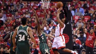 NBA: Το Τορόντο ισοφάρισε τους Μπακς και τον σούπερ Αντετοκούνμπο (vid)