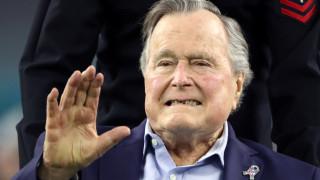 Ξανά στο νοσοκομείο με πνευμονία ο Τζορτζ Μπους ο πρεσβύτερος
