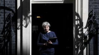Πώς «είδε» ο βρετανικός Τύπος την απόφαση της Μέι για πρόωρες εκλογές