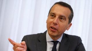 Ο καγκελάριος της Αυστρίας σε ρόλο πιτσαδόρου (vid)