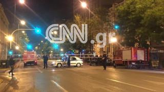 Έκρηξη βόμβας έξω από τράπεζα στο κέντρο της Αθήνας (pics)