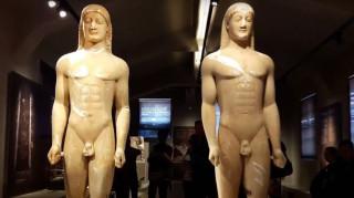 Η Αρχαία Κόρινθος και οι δίδυμοι κούροι που παραλίγο να πουληθούν στο εξωτερικό (Vid)