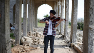 Συναυλία στα συντρίμμια της Μοσούλης