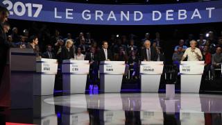 Εκλογές Γαλλία: Οι 11 υποψήφιοι διασταυρώνουν τα ξίφη τους στο τελευταίο debate