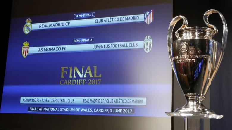 Champions League: Μαδριλένικος «εμφύλιος» στους 4, υποψίες για την κλήρωση