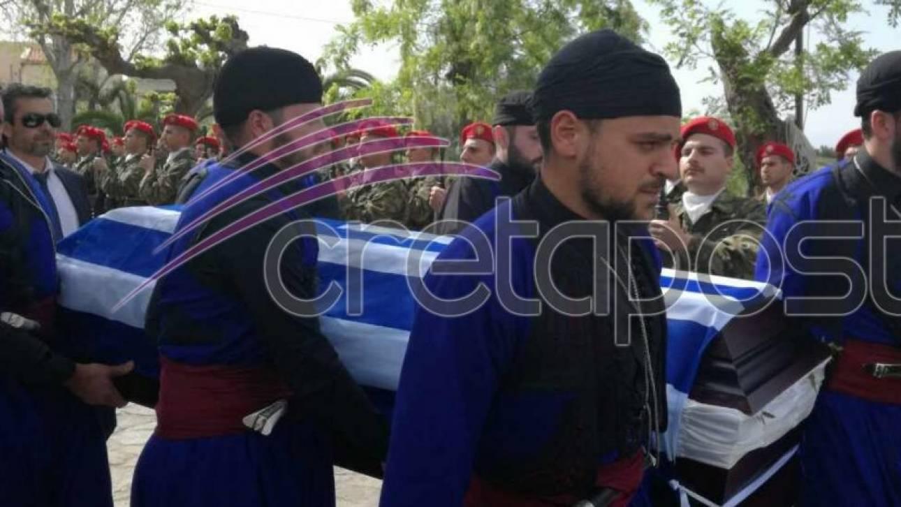 Συντριβή ελικοπτέρου: Το τελευταίο «αντίο» στον υποστράτηγο Ιωάννη Τζανιδάκη (pics)